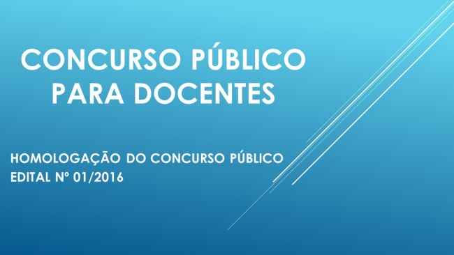 imesb homologa o concurso p blico para docentes 01 2016